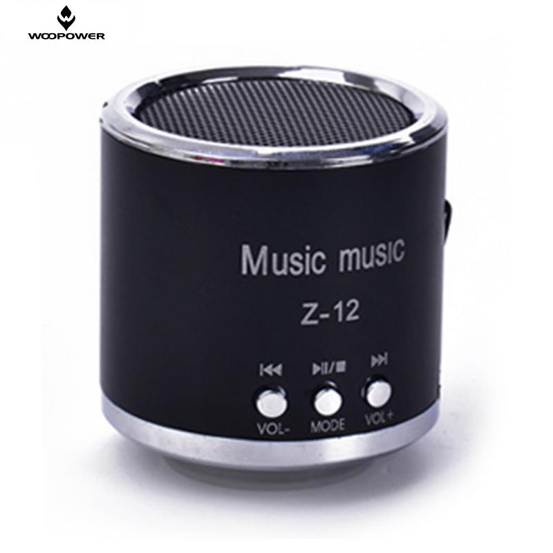 Hot Sale Portable Audio Speakers Mini Loudspeaker Box Portable TF Card Speaker Metal Mini Speaker For Mobile Phone MP3 Player(China (Mainland))