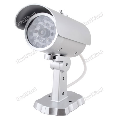 Suitable! dealward Fake Dummy Home Outdoor Surveillance Security Camera Motion Sensor Cam CCTV #7 Hot More benefit(China (Mainland))