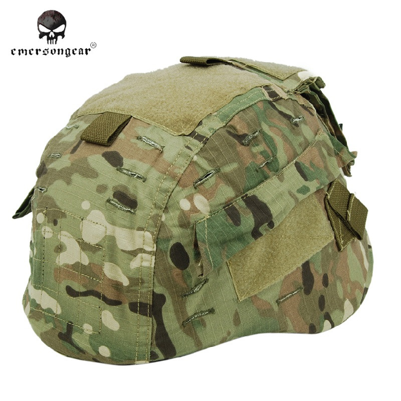 Emersongear Military Helmet Cover Paintball Army Helmet Cover for MICH 2002 Helmet Helmet Cover(China (Mainland))