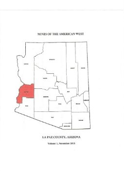 Mines of the American West - La Paz County, Arizona (Mines, ... 1 ed.(China (Mainland))