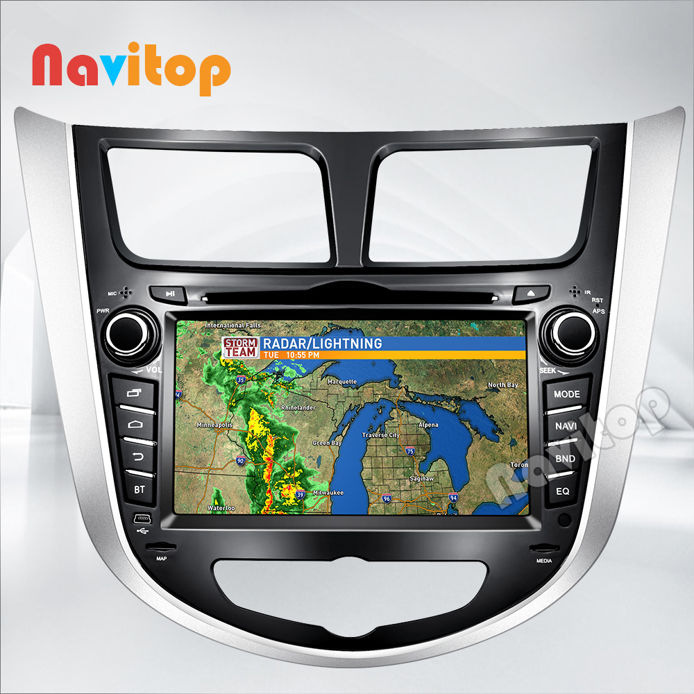 android 4.4 verna car dvd player gps 2 din dash Hyunda solaris accent 2010 2011 2012 2013 2014 2015 - Zhoon Car DVD CO.,LIMITED store