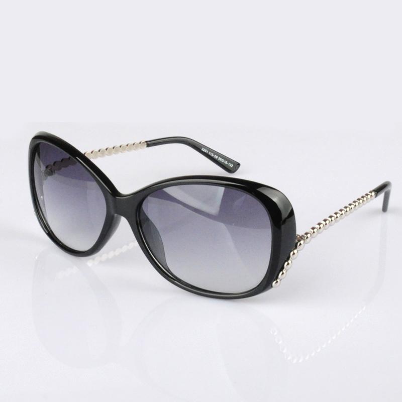Wide Framed Fashion Glasses : free shipping for Sunglasses polarized female star fashion ...