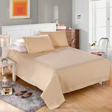 2016 ee.uu. envío gratis ropa de cama sólido 4 unids reina almohada king size cubierta del edredón cama SET(China (Mainland))
