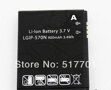 Baterias de Telefone Celular Bateria do Telefone Lgip-570n para LG o Envio Gratuito de Alta Qualidade Móvel Bl20e Gd310 Gd330 Gs505 Km570 Kv600 Kv755 Kv800 Kx755 Brilho 2