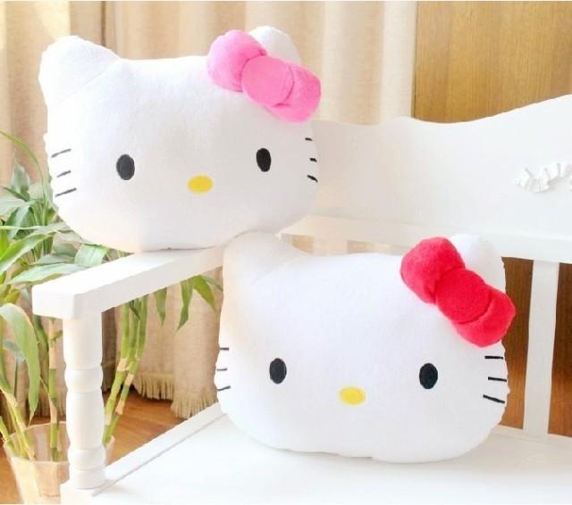New Lovely Juguetes Pillow Soft Stuffed Hello Kitty Pusheen Plush Toys Cushion Pelucia(China (Mainland))