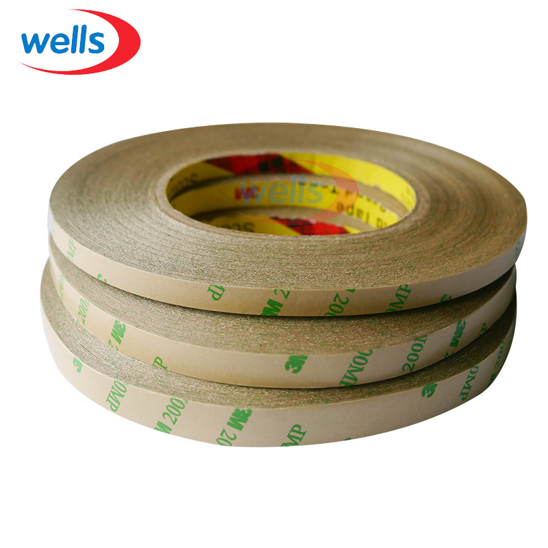 3M Adhesive Tape 50M/Roll 8mm 10mm 12mm Double Sided Tape for 3528 5050 ws2811 WS2812B Led strips(China (Mainland))