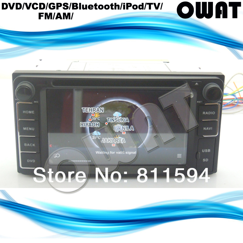 Built-in 8GB flash Android WIFI 3G Toyota Universal DVD GPS Corolla Camry RAV4 Avensis1080P Free Shipping Russian Menu Available(China (Mainland))