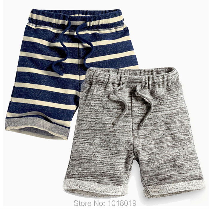 2017 Brand Quality 100% Cotton Summer Baby Boys Clothing Children Kids Clothes Toddler Boys Shorts Casual Beach Pants Baby Boys