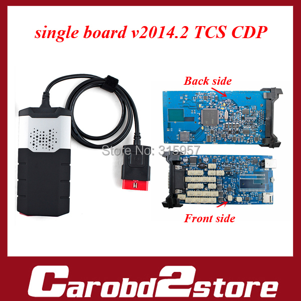 Single Board Quality A+++ ds150 tcs  cdp pro plus for CARs+TRUCKs+Generic 3 in 1  DS150E TCS CDP with 2014.2 version(China (Mainland))