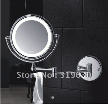 """Hot sale wholesale fashionable bathroom in wall make up mirror /8"""" shaving & cosmetic mirror -9200"""