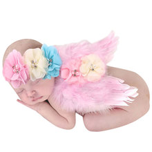 Newborn Baby Crochet Knit Costume Cute Little Angel Photo Photography Prop Girls Boys Outfits Fotografia Clothes and Accessories(China (Mainland))