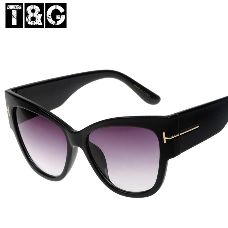 Hipster Casual Points Women Sun glasses Luxury Original Tom Brand Designer Sunglasses Vintage Retro Lunette De Soleil Feminino(China (Mainland))