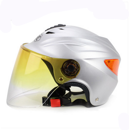 BB#05 TOP Quality YH-339-E Vintage ABS OFF Road Half Face OFF Road Helm Motorcycle Matt Silver Helmet & UV Lens Adult For Summer(China (Mainland))