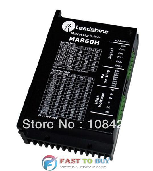 Leadshine 2-phase Classic Analog Stepper Drive MA860H DC24-80V 2.4-7.2A New<br><br>Aliexpress