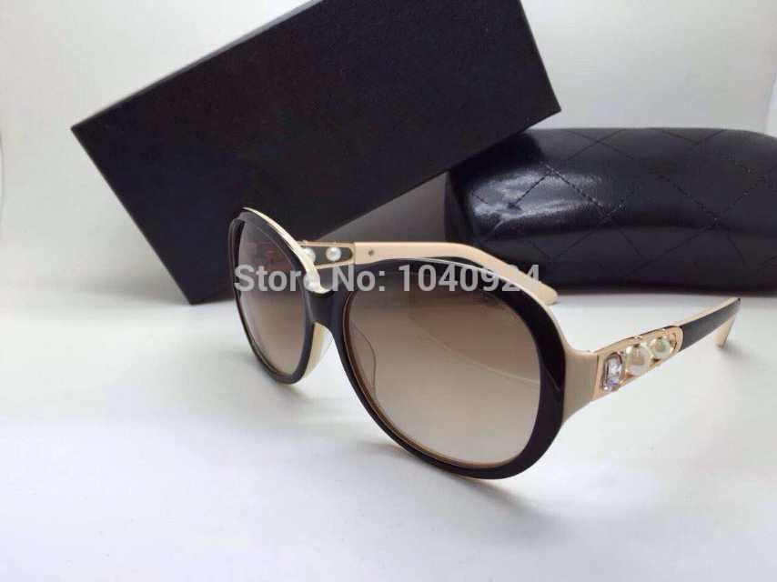 HOT!!!!Free shipping 2015 CH0537 Sunglasses sheets mercury surface reflective Brand glasses. Fashion.Pearl diamond(China (Mainland))
