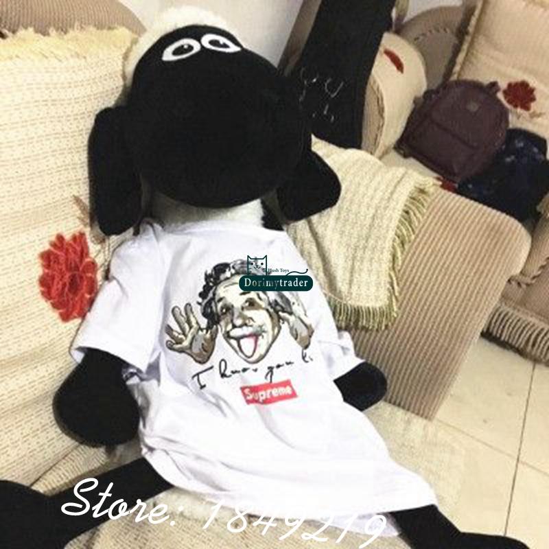 Dorimytrader 120cm Biggest Jumbo Shaun the Sheep Toy Plush Soft Stuffed 47'' Cartoon Animal Sheep Doll Free Shipping DY61167(China (Mainland))