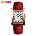 Watch Women SKMEI brand luxury Fashion Casual quartz watches leather sport Lady relojes mujer women wristwatches