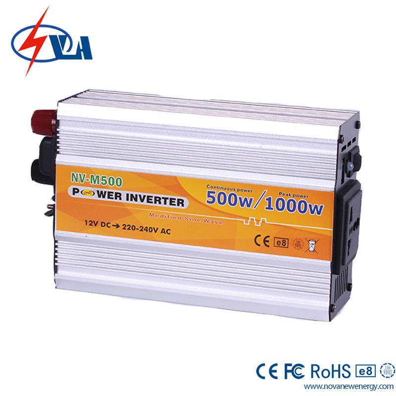 NV-M500 DC 12V TO AC 110V Car Power Inverter 500W Solar Inverter Off Grid Variateur De Frequence China Frequency Inverter(China (Mainland))