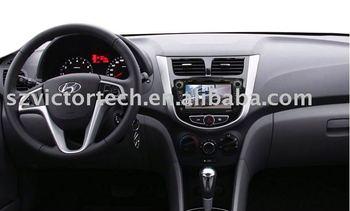 """6.2"""" special car DVD GPS with Bluetooth for Hyundai Verna"""