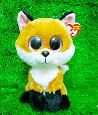 TY big eyed big eyes slick fox soft plushed lion animal large size 25cm  beanie boos  Lovely gift for baby<br><br>Aliexpress