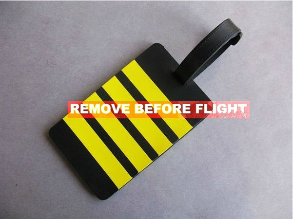Pilot Luggage Tags Luggage Tag Personality