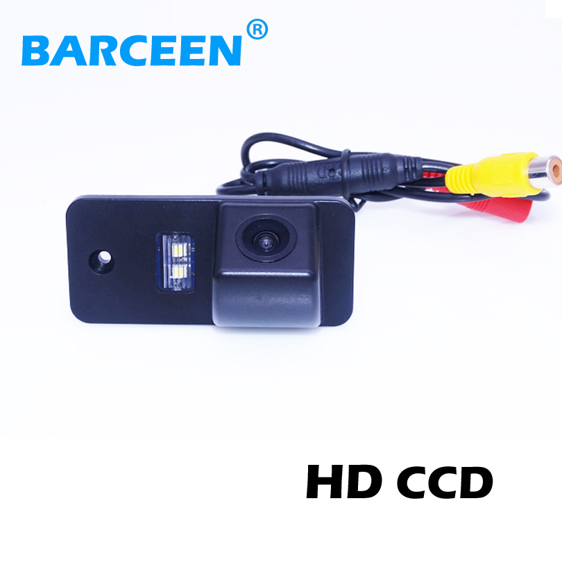 Colorful night vision car rear reversing camera bring ccd image and car parking line for Audi A3 A4 A6 A8 Q5 Q7 A6L(China (Mainland))
