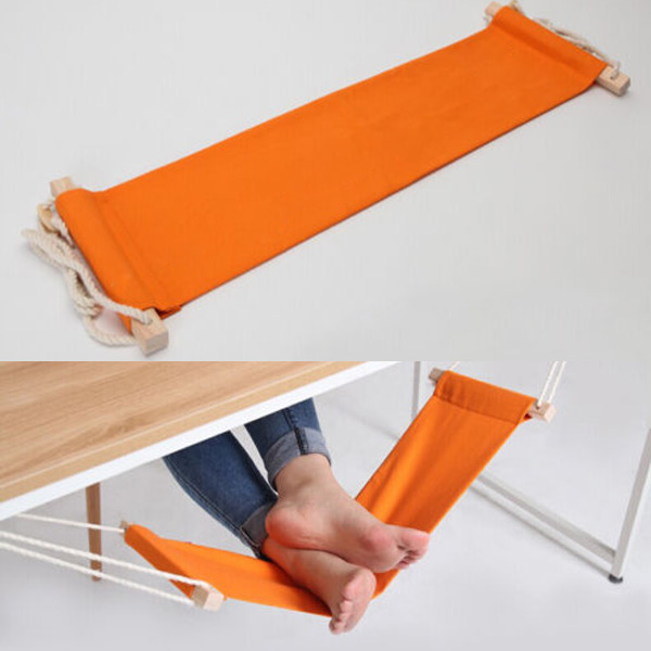 Portable Mini Office Foot Rest Stand Desk Feet Hammock Easy to Disassemble Home Study Library Comfortable Outdoor Indoor<br><br>Aliexpress