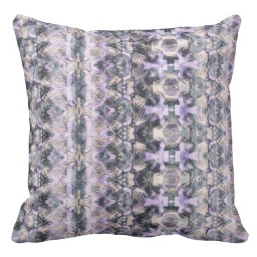 Pillow Cushions Office Bohemian Lush 007 Reversible Throw Pillow Case (Size: 20