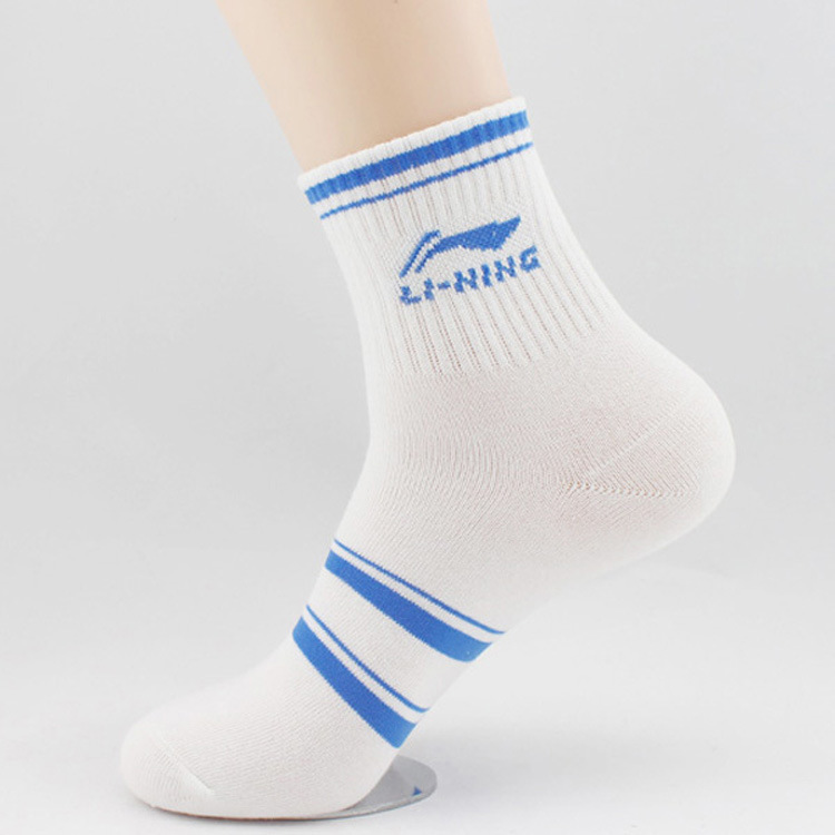 21 Colors Lining Men s Athletic Socks Male Adult Cotton Socks Breathable Meias Masculinas Li ning