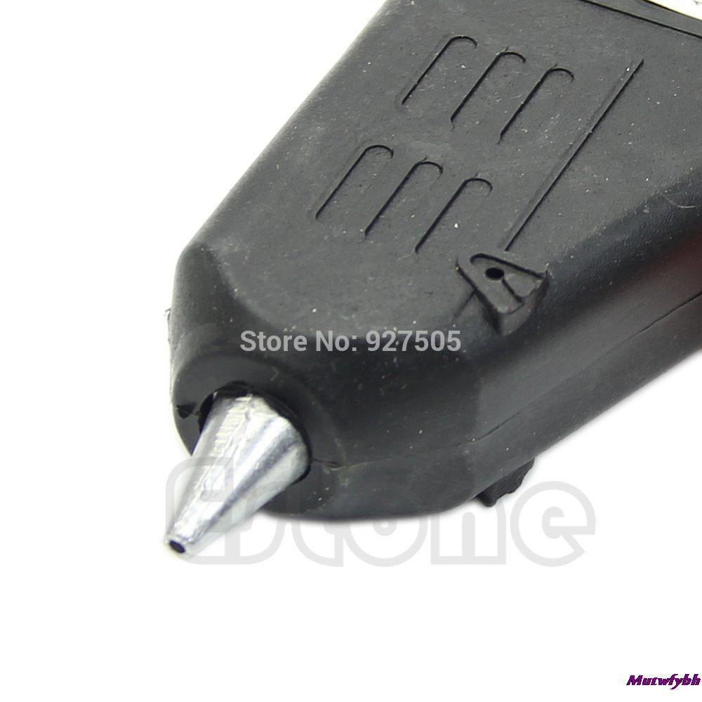 AK 1pc Electric Heating Hot Melt Glue Gun Sticks Trigger Art Repair Tool 20W EU US