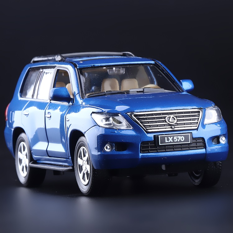 High Simulation Exquisite Diecasts & Toy Vehicles CaiPo Car Styling LEXUS LX570 Luxury Off-Road 1:32 Alloy Diecast SUV Car Model(China (Mainland))