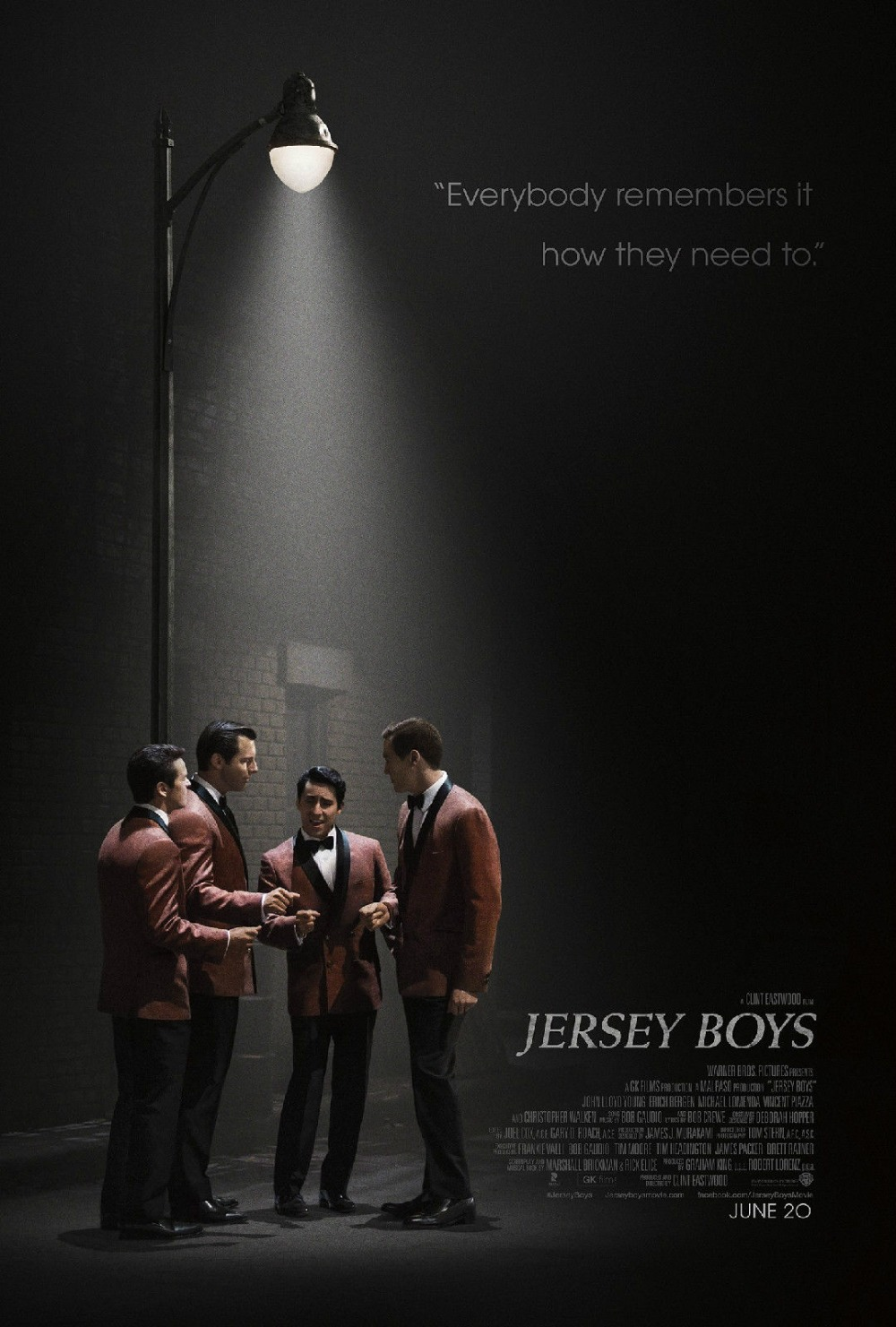 JERSEY BOYS Movie Poster print on silk Wall Art Home Decoration 12x18 24x36 inch(China (Mainland))