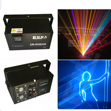 300mw rgb best quality top sell 3d animation laser show multi color laser stage light(China (Mainland))