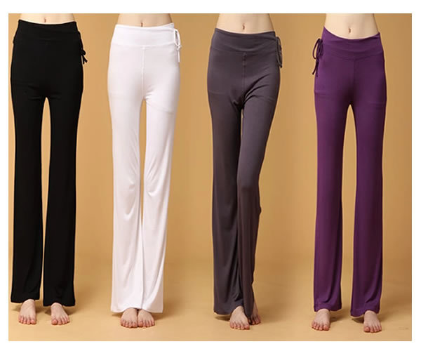 Lady Womens Sport Drawstring Yoga Pants wear Cotton Clothing Stylish Trousers fitness Dancing Clothes<br><br>Aliexpress