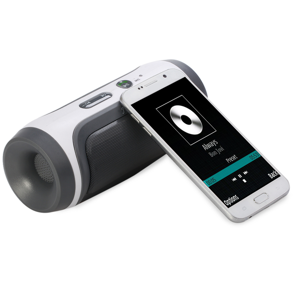 Brand New JY-3 Portable Wireless Bluetooth Loudspeaker Support U-disck TF Card with FM and Mic Outdoor Speaker for All Phone(China (Mainland))