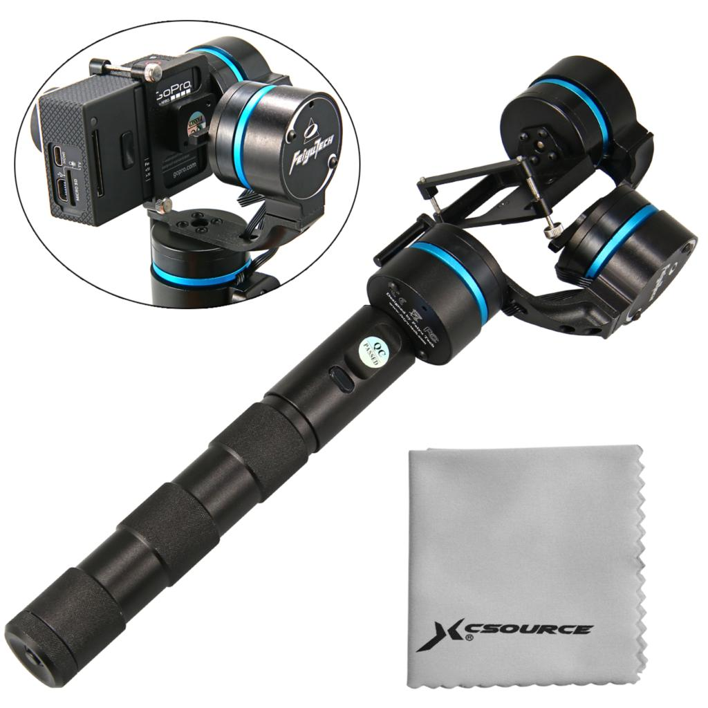 buy selfie stick monopod steadycam 3 axis brushless handheld gimbal steady. Black Bedroom Furniture Sets. Home Design Ideas