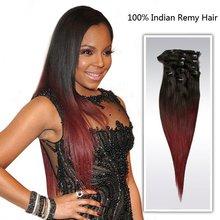 color hair extension Brazilian