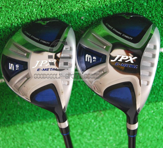 Golf Clubs New JPX-800 3 5.Golf Fairway Woods.2Pcs/lot Regular Graphite shaft Clubs wood Free shipping,(China (Mainland))