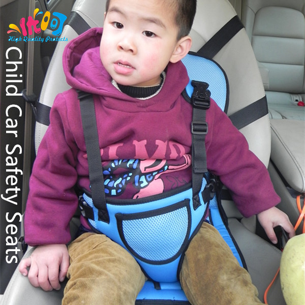 Child Car Safety Seats 3 Color 1pcs Free Shipping Portable Baby Car Safety Booster Seat Dining Chair Seat Belt Drop Shipping(China (Mainland))