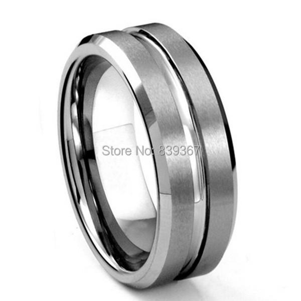 Hot Sale Tungsten Ring Tungsten CZ Diamond Ring Latest Tungsten Wedding CZ Diamond Finger Ring(China (Mainland))