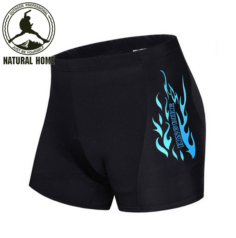 [NaturalHome] Brand Men's Cycling Shorts Riding Bicycle Ropa Ciclismo Bike 3D Padded Coolmax Gel Shorts Fitness Underwear(China (Mainland))