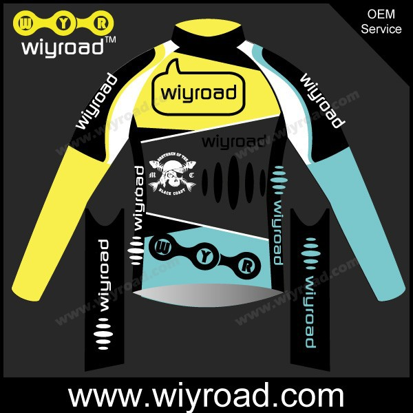 Custom service thermal fleece cycling jersey suits long,pro cycling team jacket wind cycling,cycling suit long with good quality(China (Mainland))