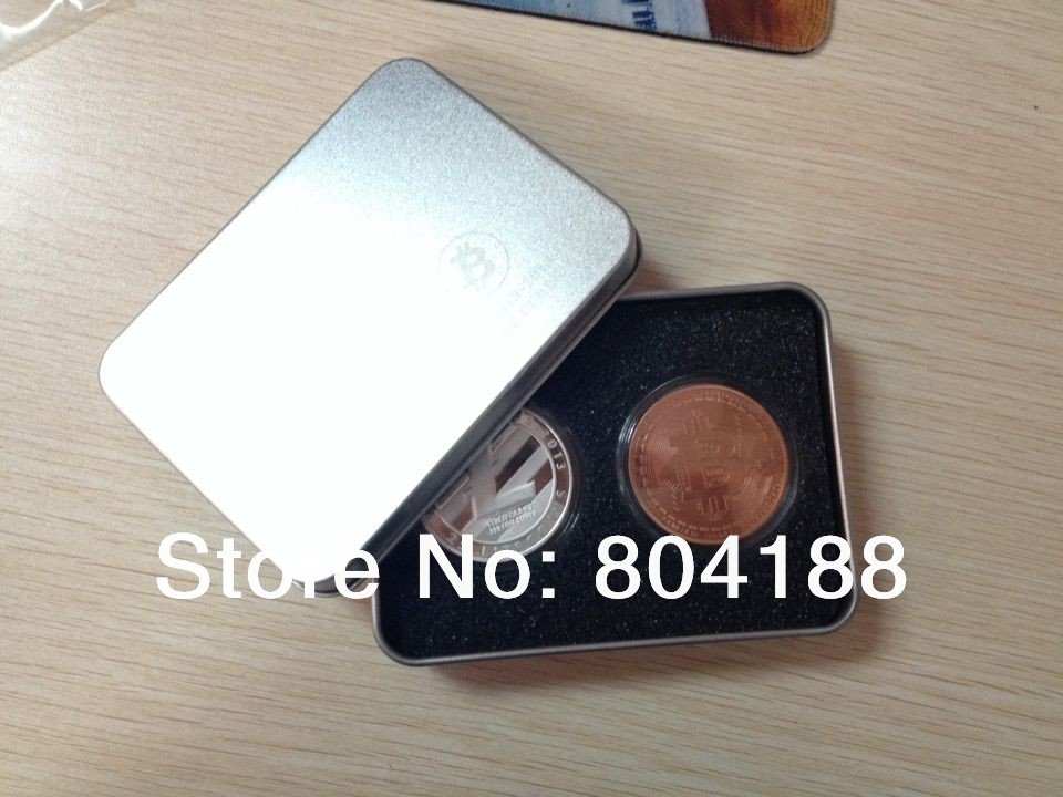 """Gros """" new """" coin box deux pièces boîte en fer fournisseurs 50 pcs/lote DHL livraison gratuite Bitcoin boîte sans pièces(China (Mainland))"""