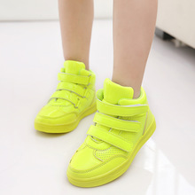 Kids' Sneakers 2016 Children's shoes fashion sneakers boys leisure sneakers girls kids shoes High help leisure sports shoes A159