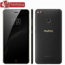 """מקורי nubia z11 mini s 4 gb ram 64 gb snapdragon 625 אוקטה core זיהוי טביעת אצבע 23.0mp fdd lte 4 גרם 5.2 """"FHD 1080 P טלפון נייד(China (Mainland))"""