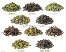 Promotion Natural Organic 10 Different Flavor Health Care Oolong Tea Milk Oolong Black Tea Dahongpao Green