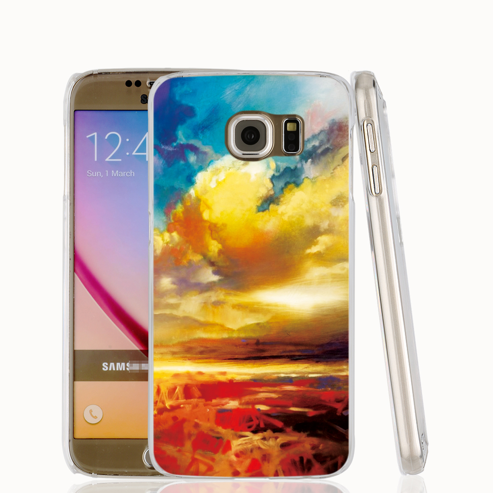 21835 Silver Lining cell phone case cover for Samsung Galaxy S7 edge PLUS S6 S5 S4 S3 MINI(China (Mainland))