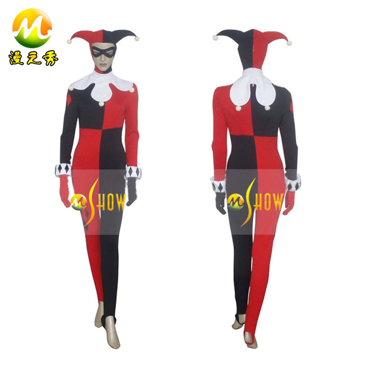 Injustice Cosplay Costumes Quinn Cosplay Costume dr
