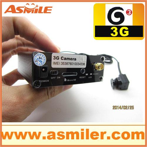 Гаджет  Asmile WCDMA 3g video call camera in HSDPA/UMTS 850/1900/900/2100 MHz None Безопасность и защита