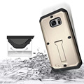 New for Samsung Galaxy S7 Edge Metal Frame Cell Phone Back Cover Case Anti Dirt Shockproof